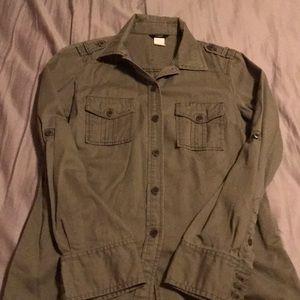 Jcrew Military shirt